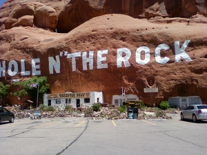 Hole in the rock- Utah, 5000 sq ft home in the rock